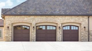 Richard Wilcox triple garage door
