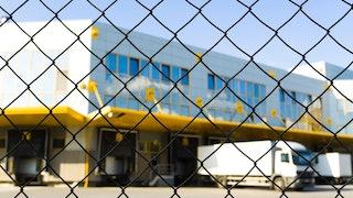 Logistics Center Chain Link Gate Min
