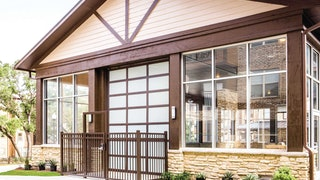Sectional Doors Cabin Style Min