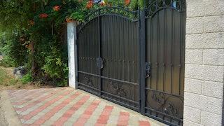 Wrought Iron Gate Min