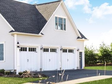 Carriage House 6600 Brunswick garage door