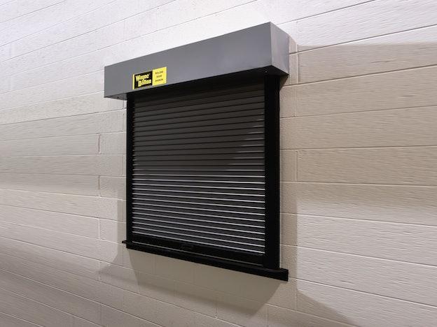 500 Rolling Counter Shutters commercial door