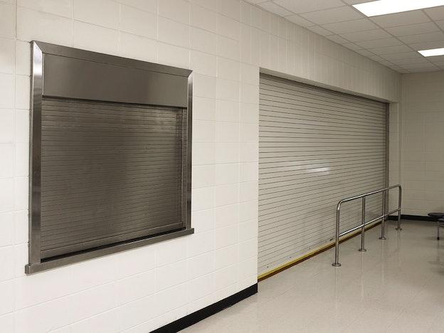 Integral Frame Counter Shutter commercial door