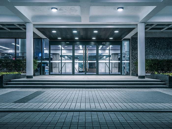 Commercial Automatic Man Door