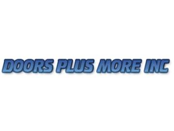 Logo Doors Plus More 334X250