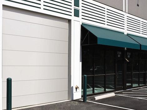 Sectional Steel 216 commercial door