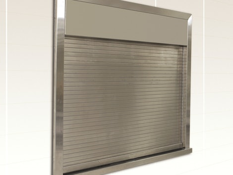 Integral Frame Fire Counter Shutter commercial door
