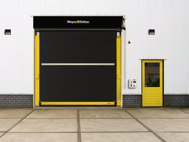 ADV-X 885 commercial door