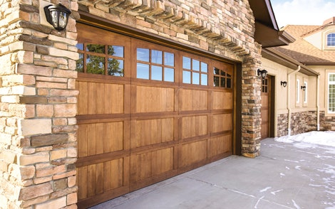 Wood 7103 Mustang garage door