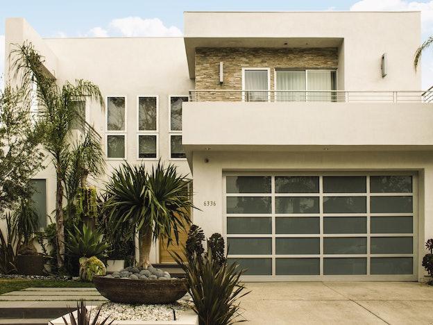 现代玻璃8800车库门