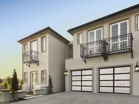 8850 glass garage door