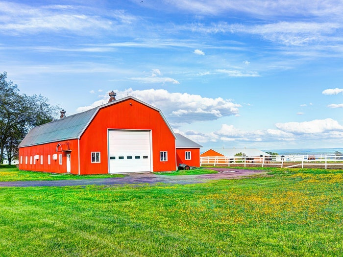 Farm Ranch Red Barn Min