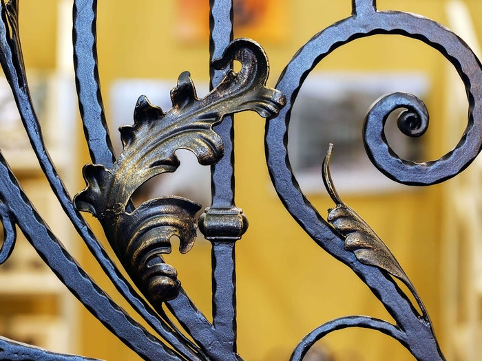 Wrought Iron Details Min